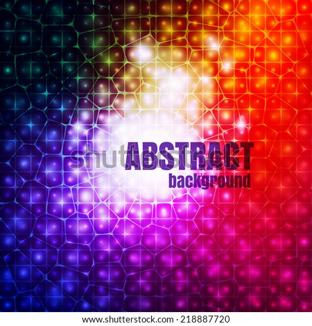 Abstract colorful background for modern presentation design, vector eps10