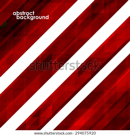 Abstract colorful background from triangles. Vector illustration. Eps 10 - stock vector