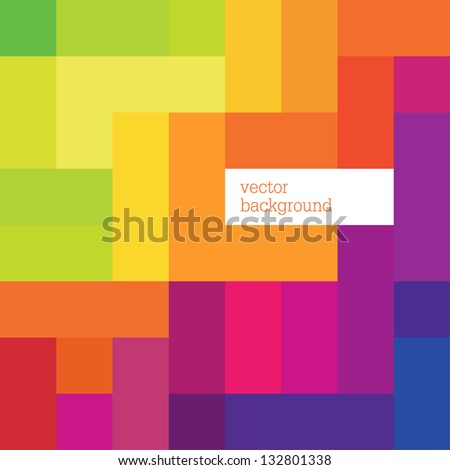 Abstract colorful background template. Vector, EPS8 - stock vector