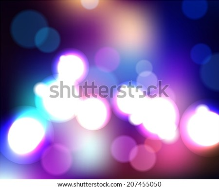 Abstract Colorful Background, Vector - stock vector