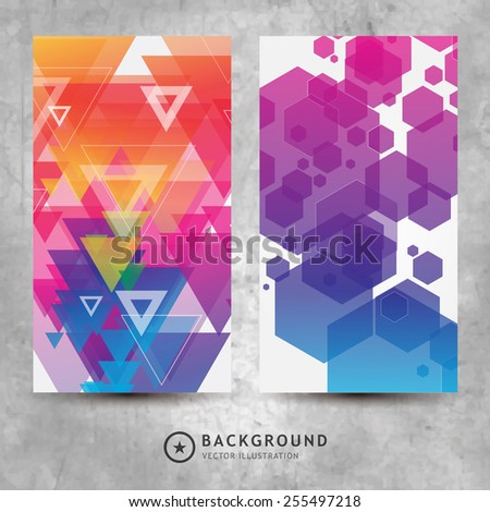Abstract Colorful Background. Vector. Eps 10