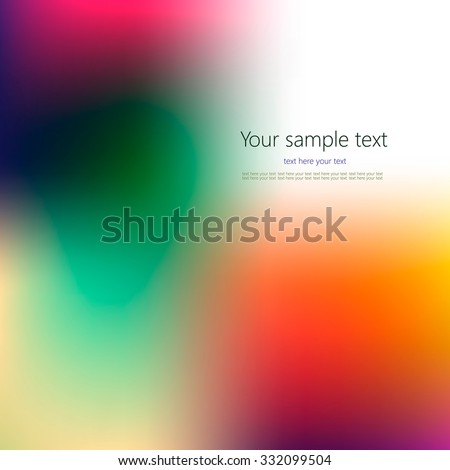 Abstract colorful background with place for your text. - stock vector