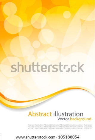 Abstract colorful circles vector design - stock vector