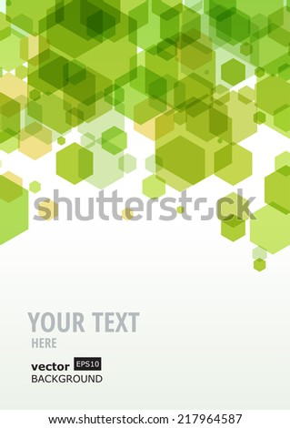 Abstract colorful geometric background, vector template.