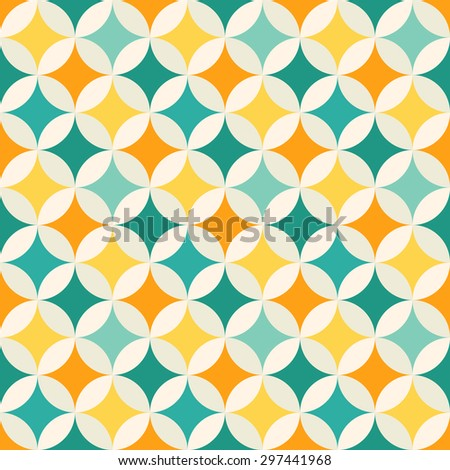 abstract colorful geometric pattern background vector eps 10 - stock vector
