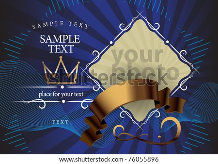 abstract colorful illustration - stock vector