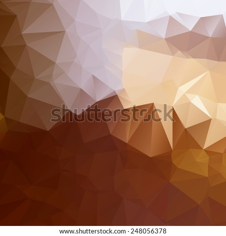 Abstract Colorful Lowpoly Vector Background | EPS10 Design - stock vector