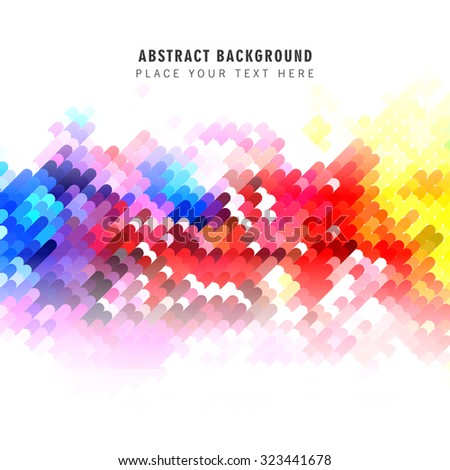 Abstract colorful modern background - stock vector