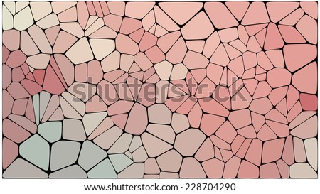 Abstract colorful mosaic pattern - stock vector