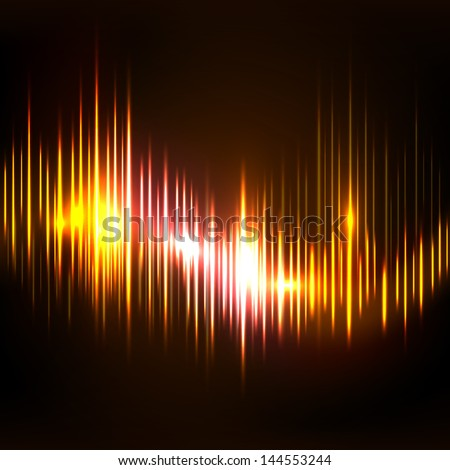 Abstract colorful musical  background, banner, poster or flyer. - stock vector