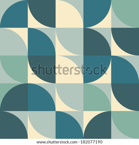 Abstract colorful repeatable geometric shapes pattern design wallpaper  Eps 10 stock vector illustration  - stock vector