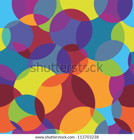 Abstract colorful seamless background. Vector