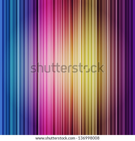 Abstract Colorful Shiny Vector Background with Stripe Decoration - stock vector
