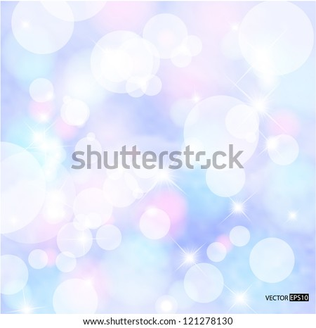 Abstract colorful snow background. EPS10 vector illustration. - stock vector