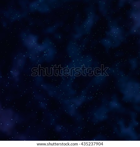 Abstract colorful space background with star. Vector illustration