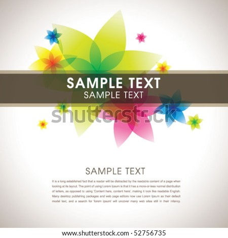 Abstract colorful template 02