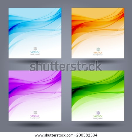 Abstract colorful template vector background. Brochure design - stock vector