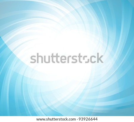 Abstract colorful transparent lights illustration vector background - stock vector