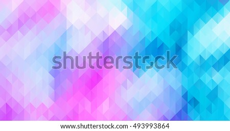 Abstract colorful triangle geometric background