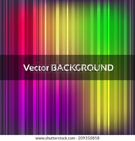 Abstract colorful vector background with stripes