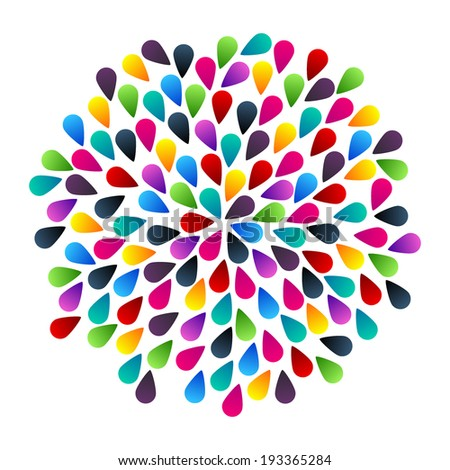 Abstract colorful vector bubbles - stock vector