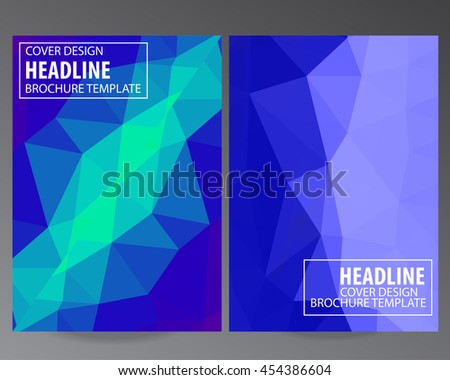 Abstract Colorful vector modern Brochure Flyer design Layout template, size A4, Front page and back page, infographics. Easy to use and edit.