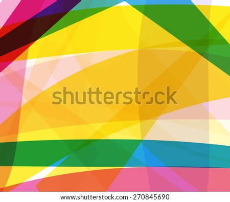 abstract colors geometry background for your text or presentation with many lines - stock vector