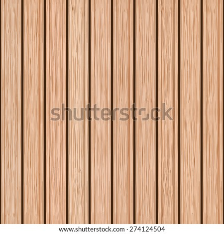 Abstract column old wooden texture, Vector illustration wood plank, Realistic wooden texture with boards, seamless pattern background. - stock vector