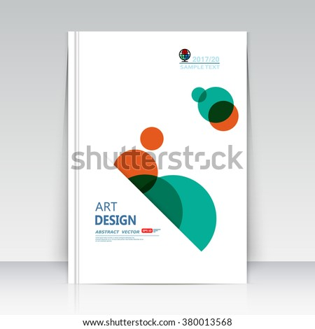 Abstract composition, business card, lnfo text frame surface, geometric shape font texture, white a4 brochure title sheet, creative round figure icon, circle logo sign, flyer fiber, EPS10 banner form  - stock vector