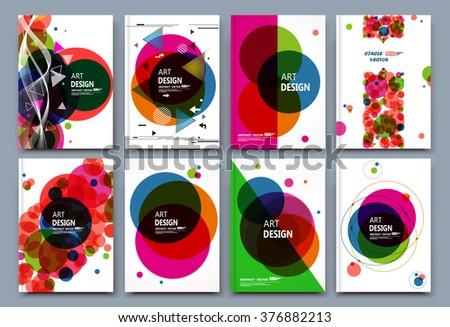 Abstract composition business card set financial stock vector abstract composition business card set financial infographic text geometric shape font texture colourmoves