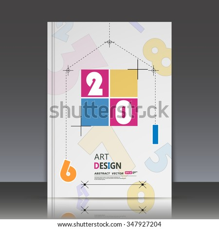 Abstract composition, math technology, new year eve banner icon, 2016 digits greeting card, arithmetic backdrop, dotted line, square block, quadrate tetragon, quadrangle box font, arabic cipher, EPS10 - stock vector