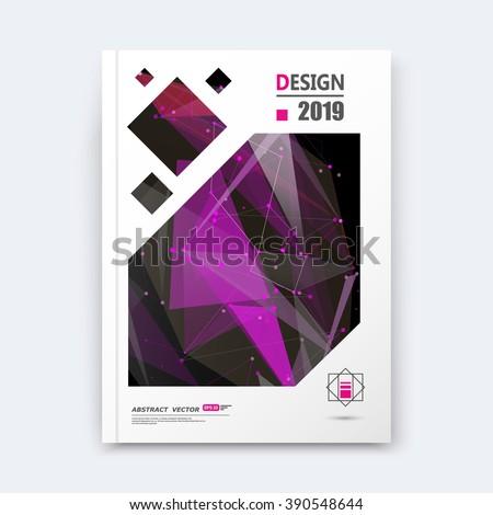 Abstract composition, purple texture, cybernetic dots, a4 brochure title sheet, creative figure, logo banner form, outer space flyer fiber, neon star matrix, starburst elegant surface, EPS 10 backdrop - stock vector