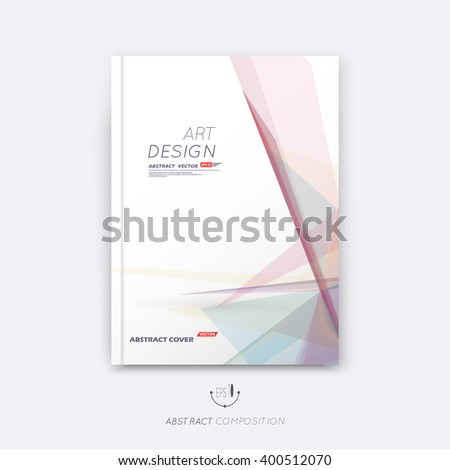Abstract composition, rosy pastel font texture, stripe section surface, lines construction, white a4 brochure title sheet, creative figure vector art, commercial offer, banner form, flyer fiber frame  - stock vector