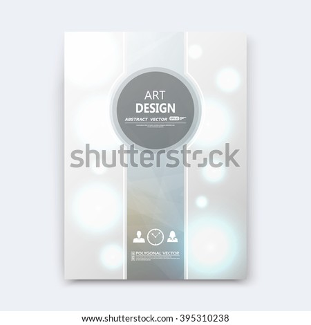 Abstract composition, silver font texture, grey stripe section cover surface, white light circle construction, brochure title sheet, creative vector art, commercial offer, banner form, flyer fiber - stock vector