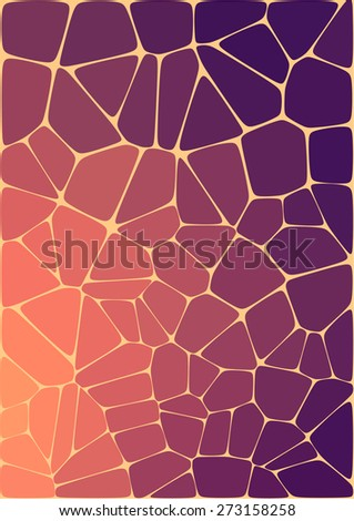 abstract composition with ceramic geometric shapes for your design  - stock vector