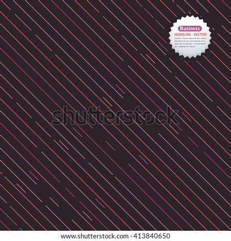 Abstract Connected Lines Elements Vector Design Background - stock vector
