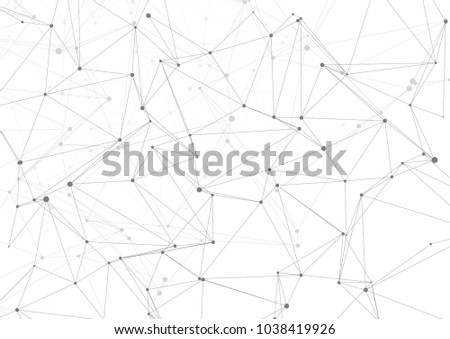 Drawing With Lines And Dots : Abstract connecting dots lines stock vector hd royalty free