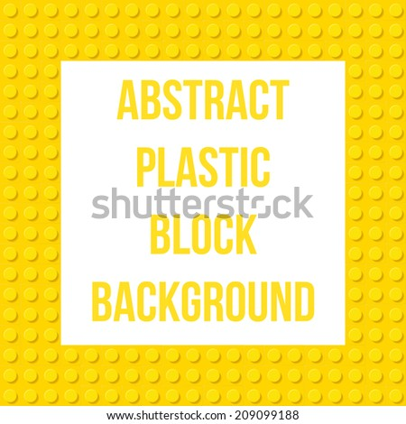 Abstract construction blocks background, Vector Graphic - stock vector