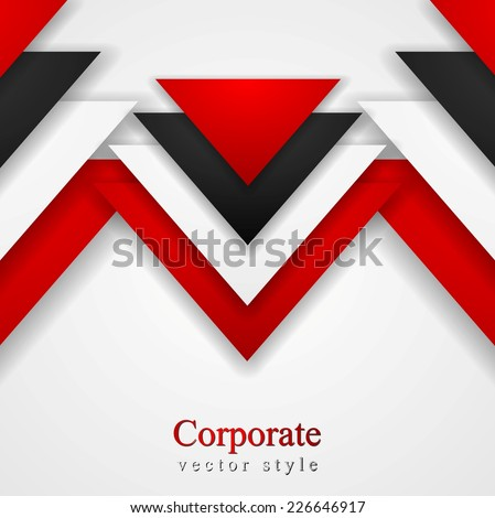 Abstract corporate background with tech elements. Vector design