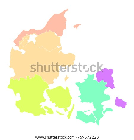 Abstract Country Map