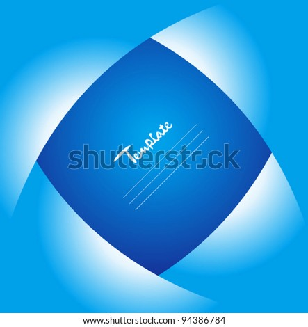 Abstract cover design - stock vector