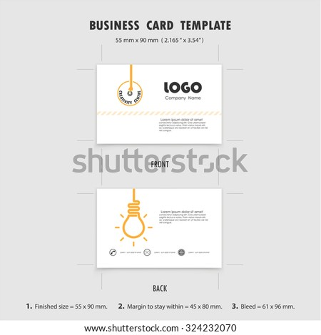 Abstract creative business cards design template stock vector abstract creative business cards design template size 55 mm x 90 mm 2165 in reheart Image collections