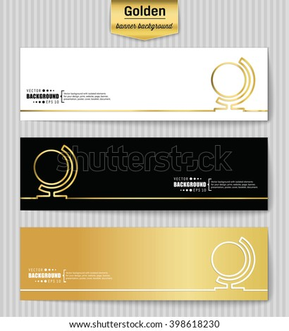 Abstract creative concept gold vector background for web app, illustration template design, business infographic, page, brochure, banner, presentation, poster, brochure, booklet, document, layout. - stock vector