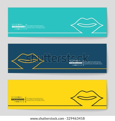 Abstract creative concept vector background. For web and mobile applications, illustration template design, business infographic, brochure, banner, presentation, poster, cover, booklet, document. - stock vector
