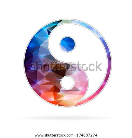Abstract Creative concept vector icon of for Web and Mobile Applications isolated on background. Vector illustration template design, Business infographic and social media, origami icons. - stock vector