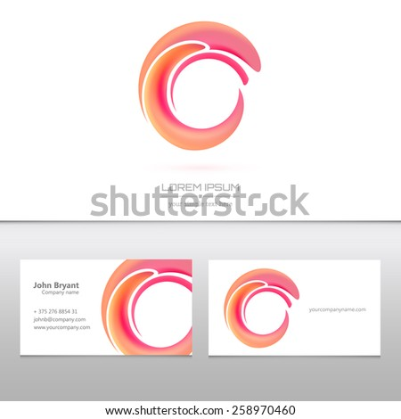 Abstract Creative concept vector image logo for web and mobile applications  - stock vector