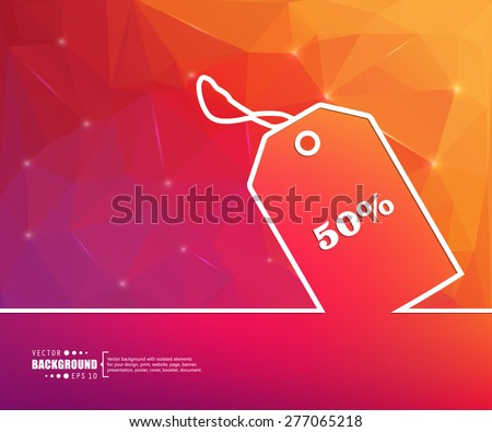 Abstract Creative concept vector isolated background for Web and Mobile app, Illustration template design, business infographic, page, brochure, banner, presentation, poster, cover, booklet, document. - stock vector