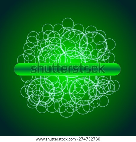 Abstract Creative concept vector shiny transparent bubbles for Web and Mobile  - stock vector