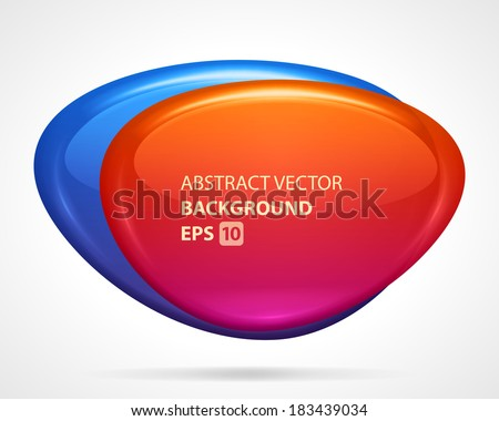 Abstract creative icon and business card. Vector design elements.