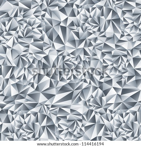 Abstract crystal background. Diamond pattern. - stock vector